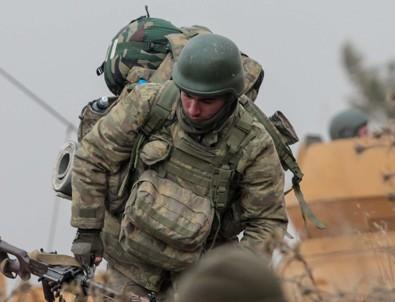 Asker 20 kilometre içeriye girdi
