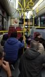 MASLAK - Bağcılar'da Silahlı Saldırı, Halk Otobüsü Kurşunların Hedefi Oldu