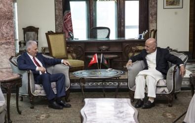 Başbakan Yıldırım, Afganistan Cumhurbaşkanı Gani ile görüştü