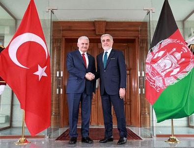 Başbakan Yıldırım: Afganistan 15 Temmuz'da gerçek dost olduğunu bir kez daha ispat etti