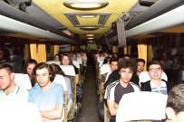 LİSE EĞİTİMİ - Bin Öğrenci Bilecik'ten Çanakkale'ye Yola Çıktı