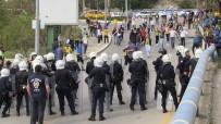 BUCASPOR - Bodrumspor, Bucaspor Maçında Olaylar Çıktı