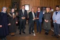 TESBIH - Erzurum Kent Konseyi Gençlik Meclisi'nden Rektör Çomaklı'ya Ziyaret