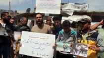 MUHALİFLER - Esed Rejiminin Doğu Guta'daki Kimyasal Silah Saldırısına Tepki
