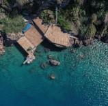 KIŞ MEVSİMİ - Falez Plajlarında Yaz Hazırlığı