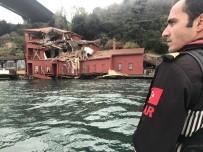 MALTA - Geminin Hasar Verdiği Yalı Böyle Görüntülendi