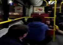 MASLAK - Halk Otobüsü Kurşunların Hedefi Oldu