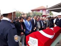ABDULLAH UÇGUN - Kalp Krizinden Ölen Genç Polis Memuru Son Yolculuğuna Uğurlandı