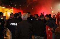 Polisleri 'kavga var' diye çağırdılar...