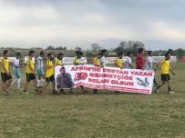 Zeytin Dalı Futbol Turnuvası'ndan Afrin'e Selam