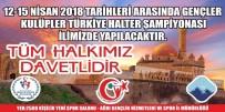 Ağrı Gençler Kulüpler Halter Türkiye Şampiyonasına Ev Sahipliği Yapacak