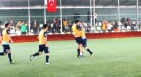 SIMERANYA - AOSB Futbol Turnuvası'nda Çeyrek Final Maçları Oynandı