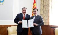 ENVER YÜCEL - Enver Yücel'e 'Moğolistan Kültür Elçiliği Nişanı' Verildi