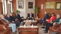 İMTİYAZ - Gazeteciler Vali Çınar'ı Ziyaret Etti
