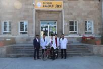 Lise Öğrencileri, Elektrikle Çalışan Bisiklet Yaptı