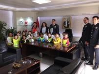 Minik Öğrencilerden Çaycuma İlçe Emniyet Müdürlüğüne Ziyaret