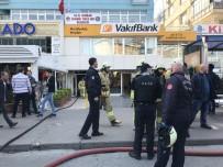 MECIDIYEKÖY - (Özel) Mecidiyeköy'de İş Hanında Yangın Paniği