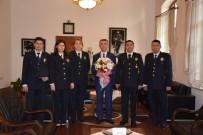ALI SıRMALı - Polis'ten Kaymakam Sırmalı'ya Ziyaret