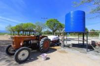 PAŞAKÖY - Saruhanlı Belediyesinden Çiftçiye İlaç Suyu Desteği