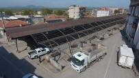 PAZARCI ESNAFI - Saruhanlı Belediyesinden Pazarcı Esnafını Rahatlatacak Hamle