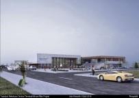 OTOBÜS TERMİNALİ - Şehirlerarası Otobüs Terminali İnşaatı Hızla Tamamlanıyor