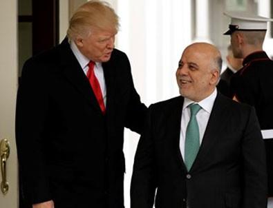 Trump-İbadi görüşmesinde Doğu Guta'daki saldırı konuşuldu