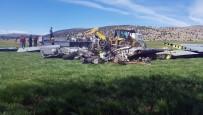 Uçağın Enkazı Kayseri'ye Götürüldü
