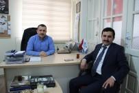 KAMU GÖREVİ - Ulaş Kaymakamı Yılmaz'dan, İHA Sivas Bölge Müdürlüğü'ne Ziyaret