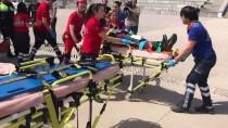 AHMET SARı - UMKE'den 'Çoklu Yaralanmalı Trafik Kazası' Tatbikatı