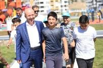 ERKILET - Yeni Parklar Kocasinan'ı Daha Da Güzelleştiriyor