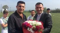 Zonguldak  Hakem Kurulu Başkanı Evren Atış, Polislere Jest Yaptı