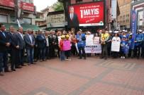 KAĞIT FABRİKASI - 1 Mayıs İşçi Bayramı Çaycuma'da Halaylar Çekilerek Kutlandı