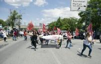 TÜRK MÜHENDİS - Ankara'da 1 Mayıs Binlerce Kişinin Katılımıyla Kutlandı
