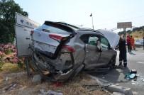 Aynı Yöne Giden İki Araç Kaza Yaptı; 6 Yaralı
