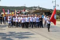 BELEDIYE İŞ - Ayvalık'ta 1 Mayıs Emek Ve Dayanışma Günü'ne Coşkulu Kutlama