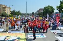 ABDURRAHMAN BULUT - Balıkesir'de 1 Mayıs Kutlamaları Sönük Geçti