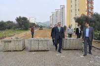 YıLDıZTEPE - Başkan Alıcık Üst Yapı Çalışmalarını Yerinde İnceledi