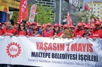 TÜRK MÜHENDIS VE MIMAR ODALARı BIRLIĞI - Başkan Kılıç, 1 Mayıs'ta Çalışanlarıyla Birlikte Yürüdü