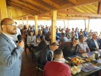 BELEDIYE İŞ - Başkan Özcan'dan İşçilere 1 Mayıs Kahvaltısı