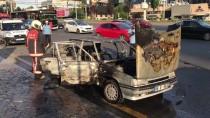 YANGIN TÜPÜ - Başkentte Araç Yangını
