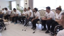 TEKERLEKLİ SANDALYE BASKETBOL - Belediye Başkanı Şahin, Başarılı Basketbolcuları Kabul Etti