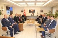 MEHMET ÖZMEN - GTB'den Başkan Şahin'e Ziyaret