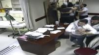 YARALI KADIN - Hasta Yakınları Güvenlik Görevlilerini Darp Etti