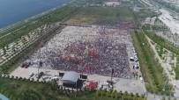 MİTİNG ALANI - Maltepe'de Kutlamalar Başladı, Kalabalık Havadan Görüntülendi