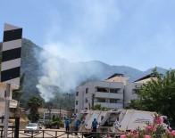 İÇMELER - Marmaris'te Orman Yangını