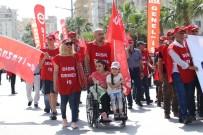 AYTUĞ ATICI - Mersin'de 1 Mayıs Coşkusu