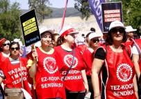 Muğla'da 1 Mayıs İşçi Bayramı Kutlaması