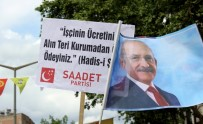 TERTIP KOMITESI - Saadet Partisi'nin Dövizi 1 Mayıs Kutlamalarına Damga Vurdu