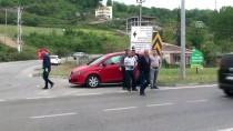 TAFLAN - Samsun'da İki Otomobil Çarpıştı Açıklaması 5 Yaralı