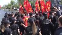 ÇEVİK KUVVET POLİSİ - Taksim Israrına İkinci Kez Müdahale